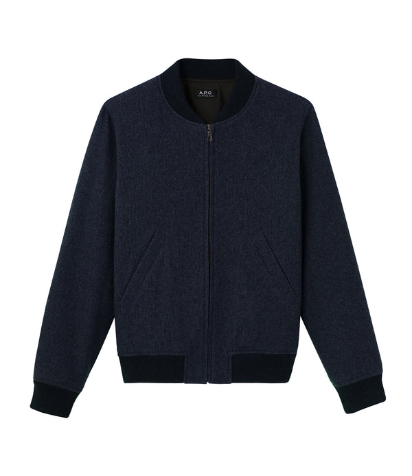 Lota jacket - PIA - Heather navy blue