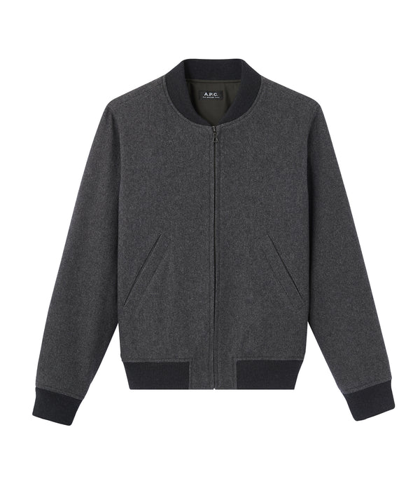 Lota jacket - PLC - Heather charcoal gray