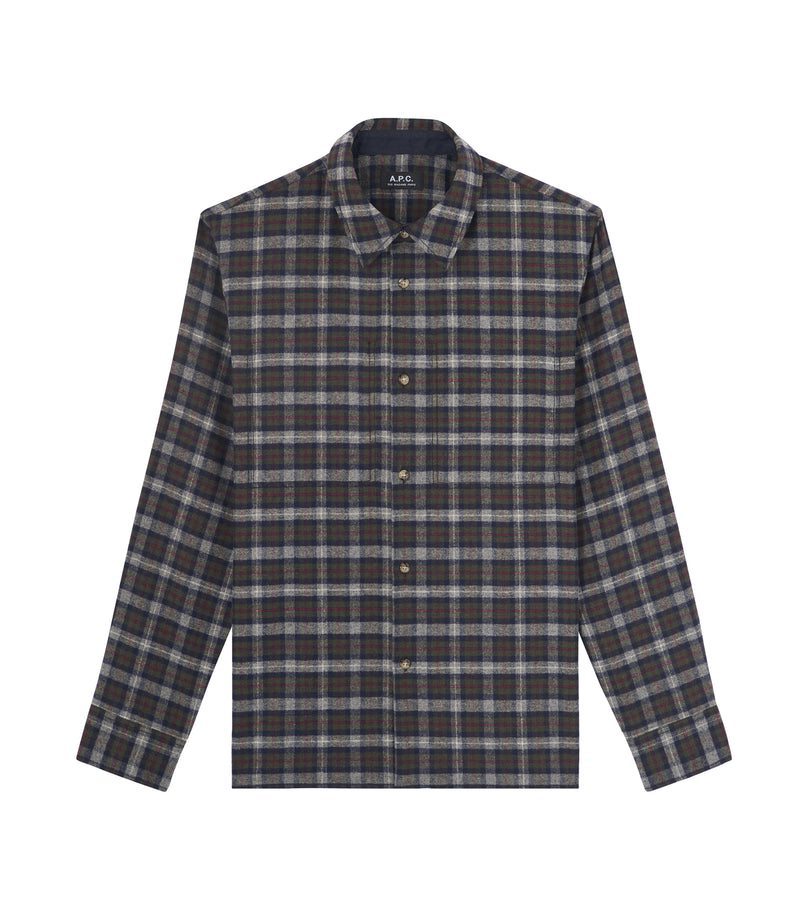 This is the Land overshirt product item. Style JAC-1 is shown.