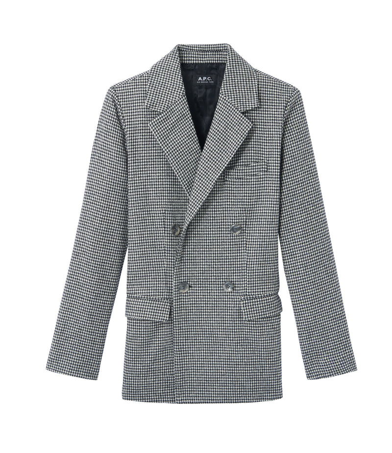 This is the Plum jacket product item. Style LZA-1 is shown.