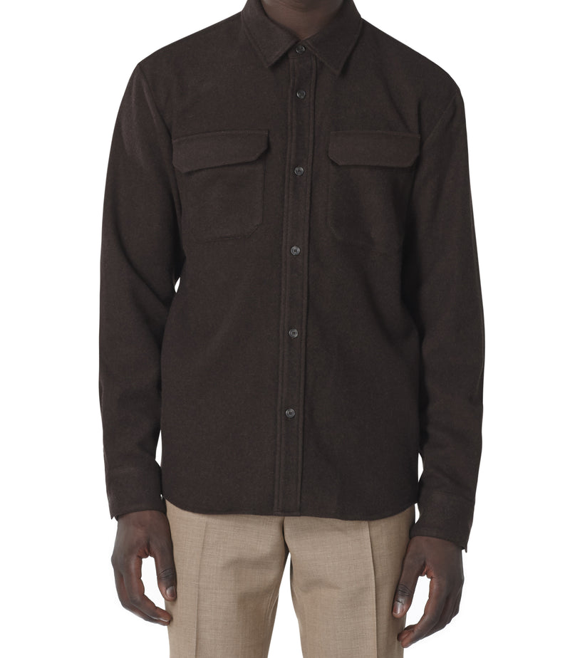 This is the Heat overshirt product item. Style CAE-2 is shown.