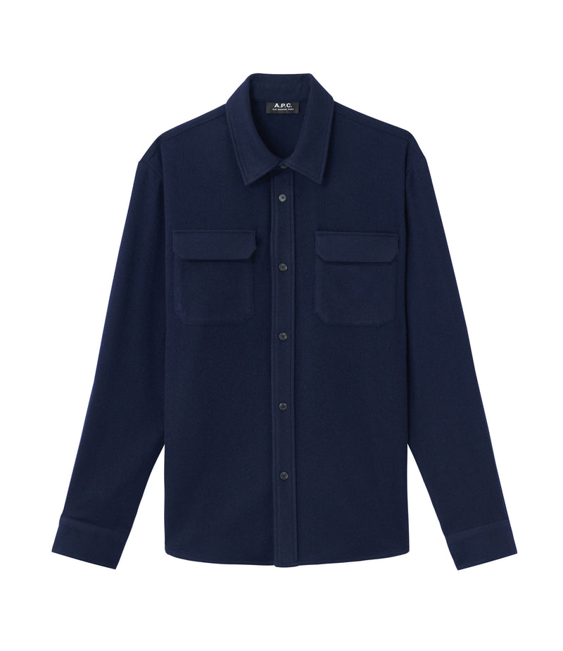 This is the Heat overshirt product item. Style IAK-1 is shown.