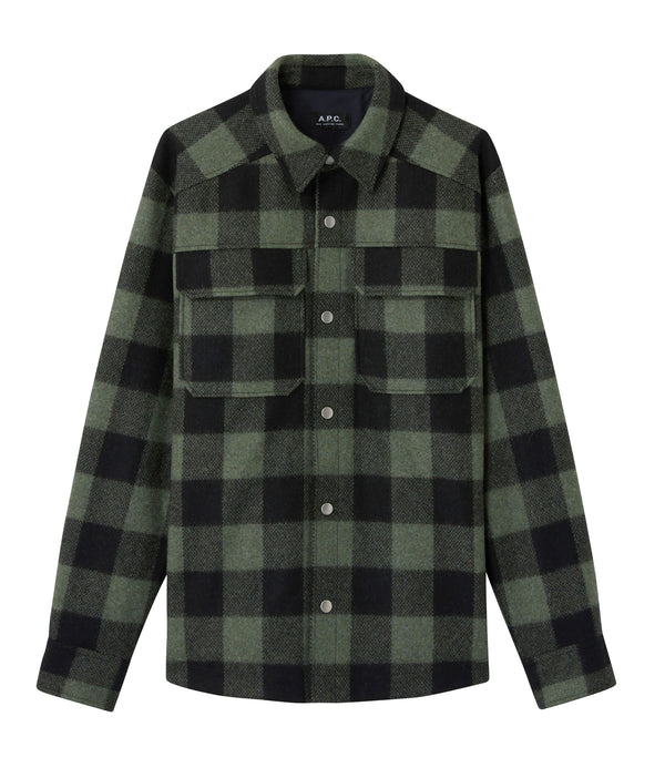 Adrien jacket - KAF - Dark green
