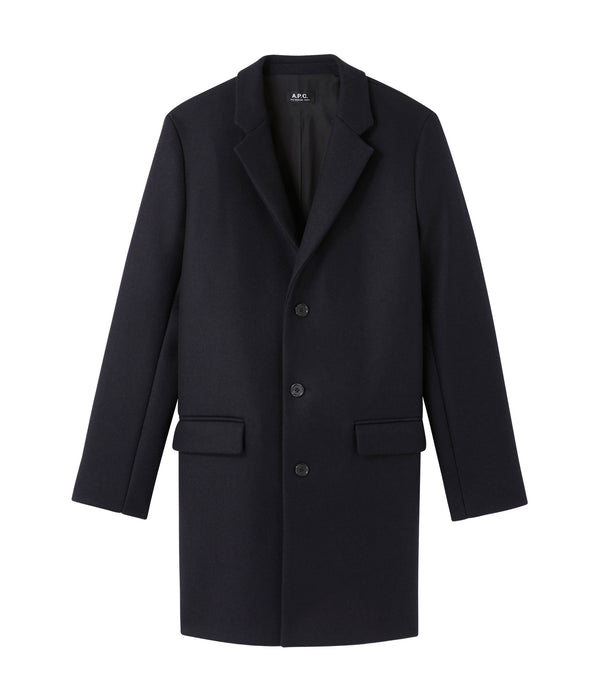 Visconti coat - IAK - Dark navy blue