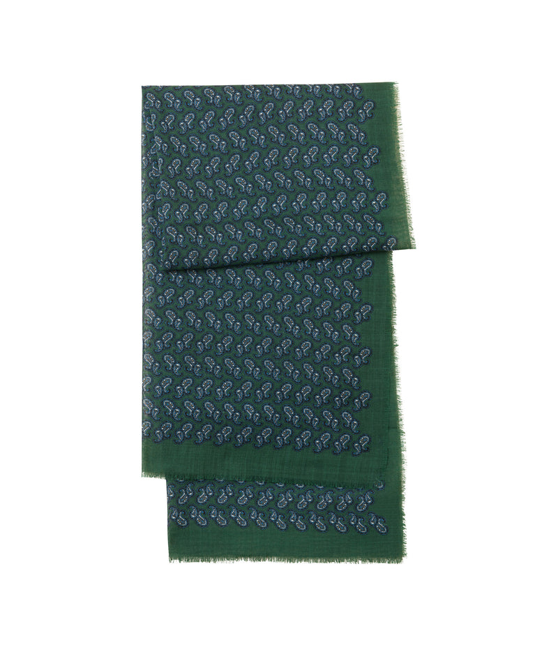 This is the Paisley scarf product item. Style KAF-1 is shown.