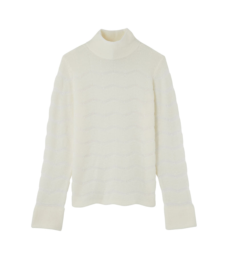 This is the Léona sweater product item. Style AAC-1 is shown.