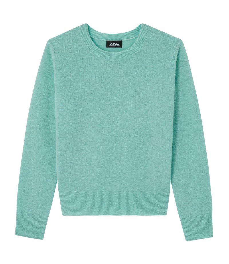 This is the Amalia sweater product item. Style KAB-1 is shown.