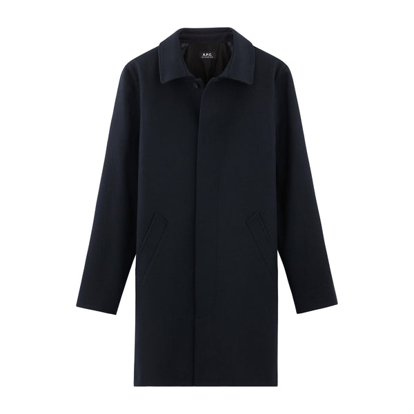 Auster raincoat - PIA - Heathered navy blue