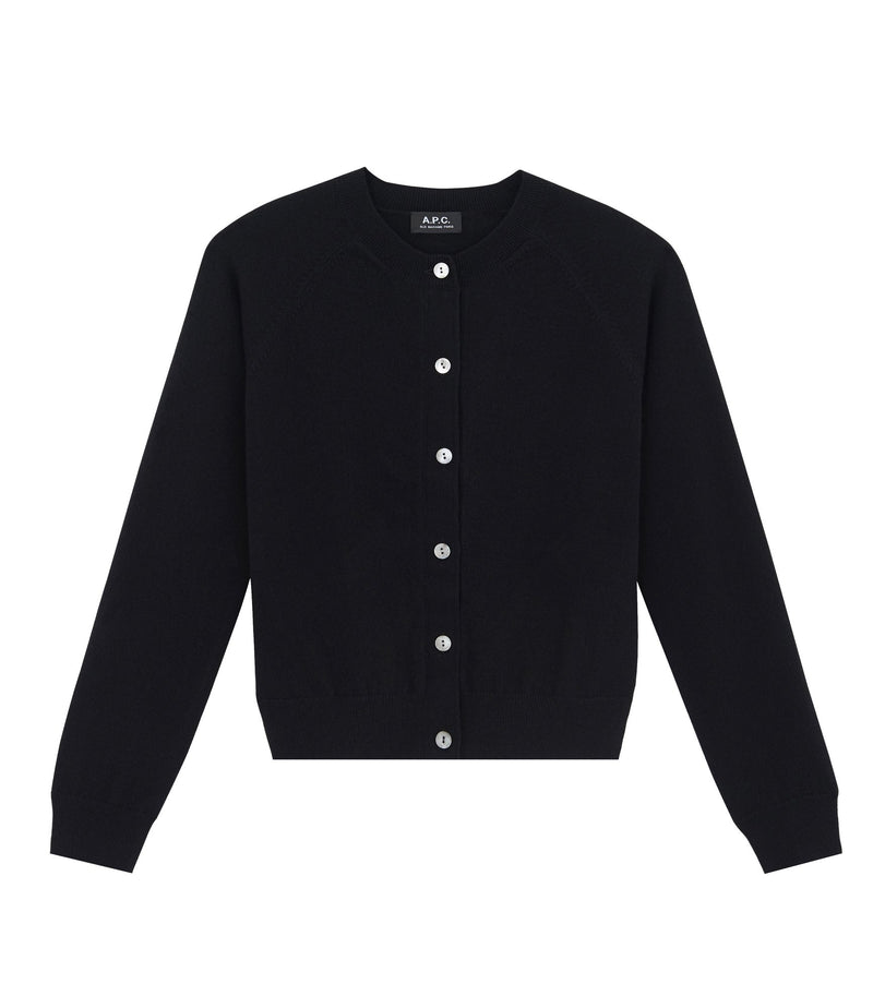 This is the Anda cardigan product item. Style LZZ-1 is shown.