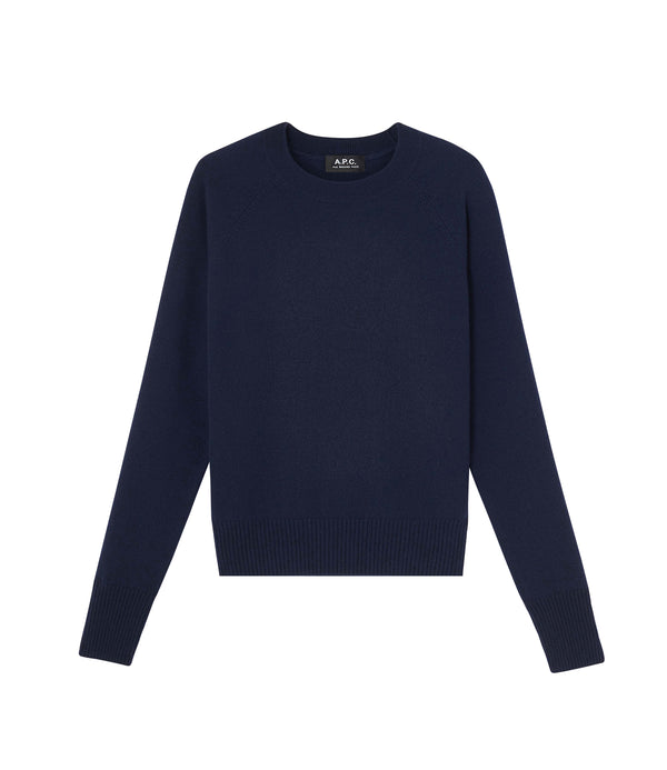 Martha sweater - IAJ - Navy blue