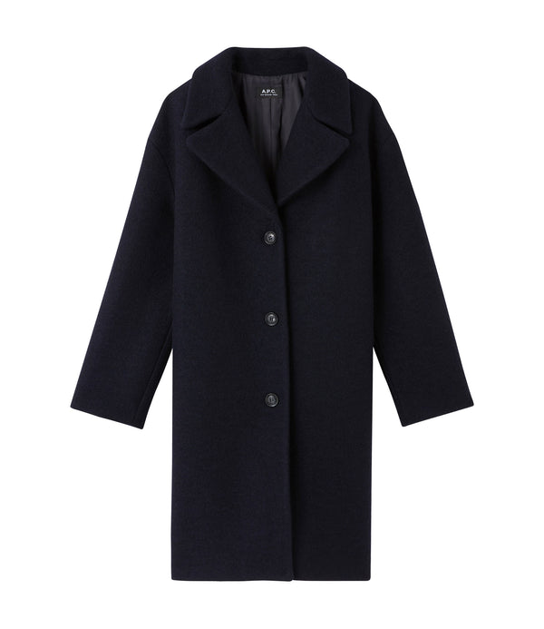 Ninh coat - IAJ - Navy blue