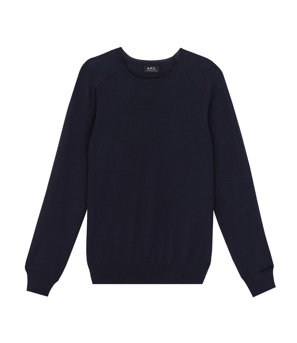 Eddy sweater - IAK - Dark navy blue