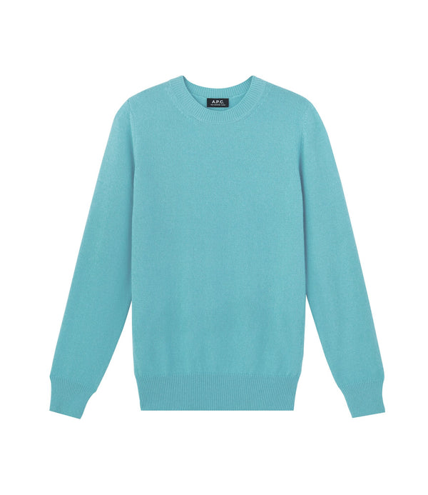 Colin sweater - IAD - Turquoise blue