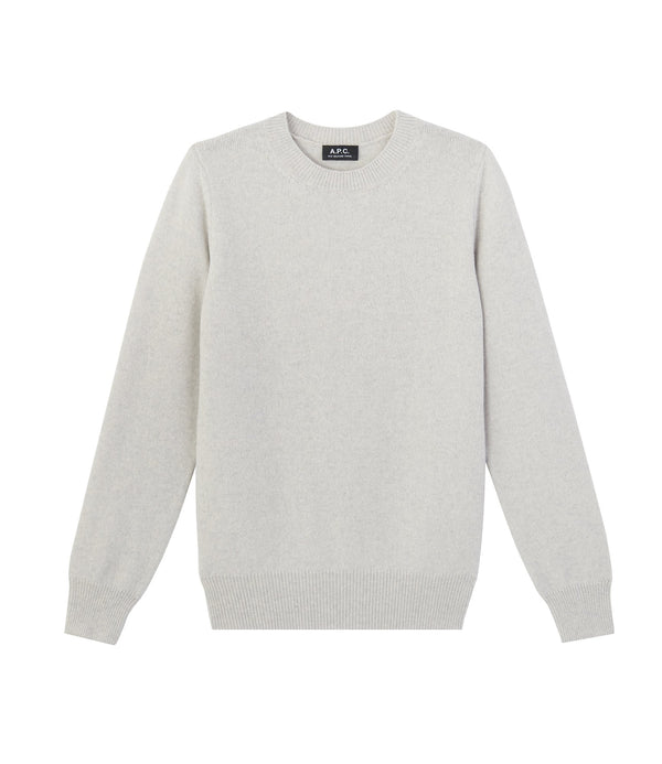 Colin sweater - PLB - Pale heathered gray