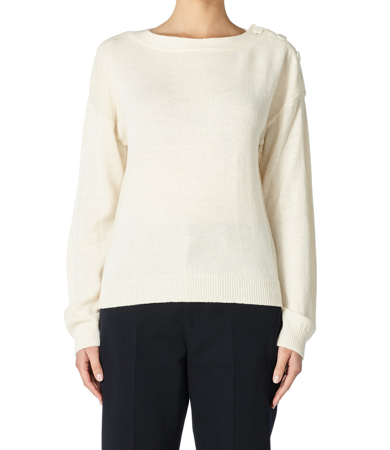 This is the Marinière sweater product item. Style AAD-2 is shown.