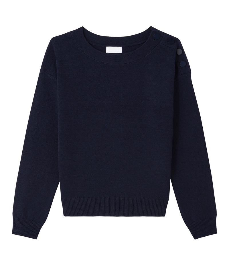 This is the Marinière sweater product item. Style IAK-1 is shown.