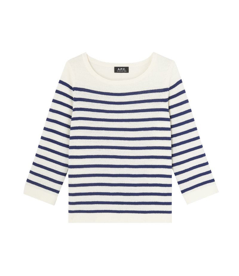 This is the Claudine sweater product item. Style AAD-1 is shown.