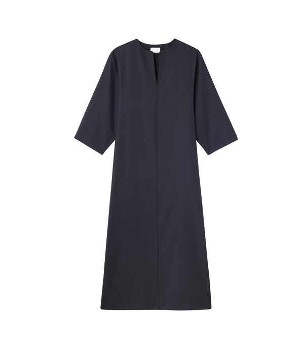 Katja dress - IAK - Dark navy blue
