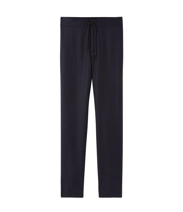 Etienne pants - IAK - Dark navy blue