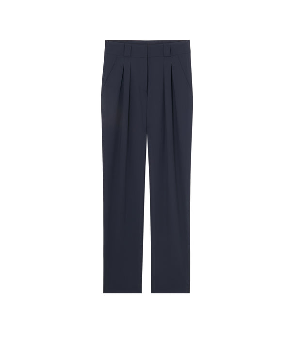 Carla pants - IAK - Dark navy blue