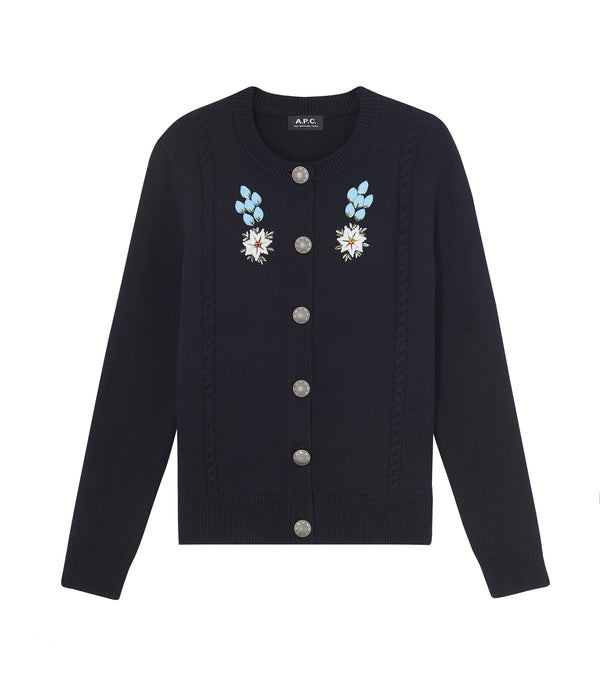 Heidi cardigan - IAK - Dark navy blue