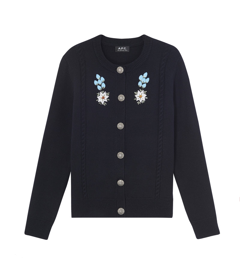 This is the Heidi cardigan product item. Style IAK-1 is shown.