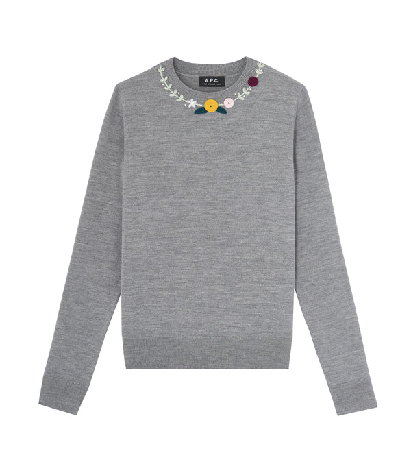 Greta sweater - PLA - Heather gray
