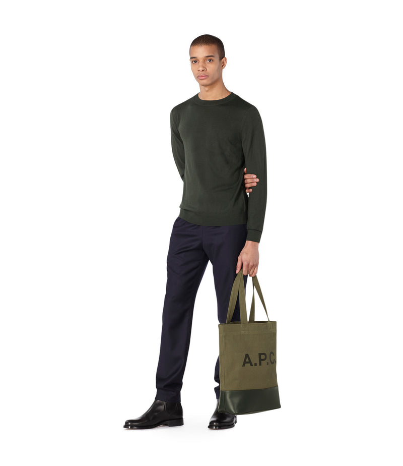 This is the Alec sweater product item. Style JAC-2 is shown.