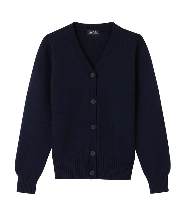 Ama cardigan - IAK - Dark navy blue