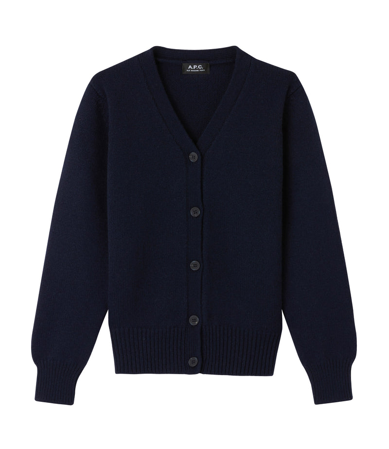 This is the Ama cardigan product item. Style IAK-1 is shown.