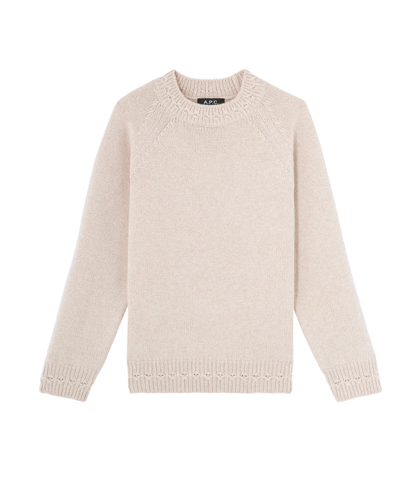 Wicklow sweater - AAE - Putty