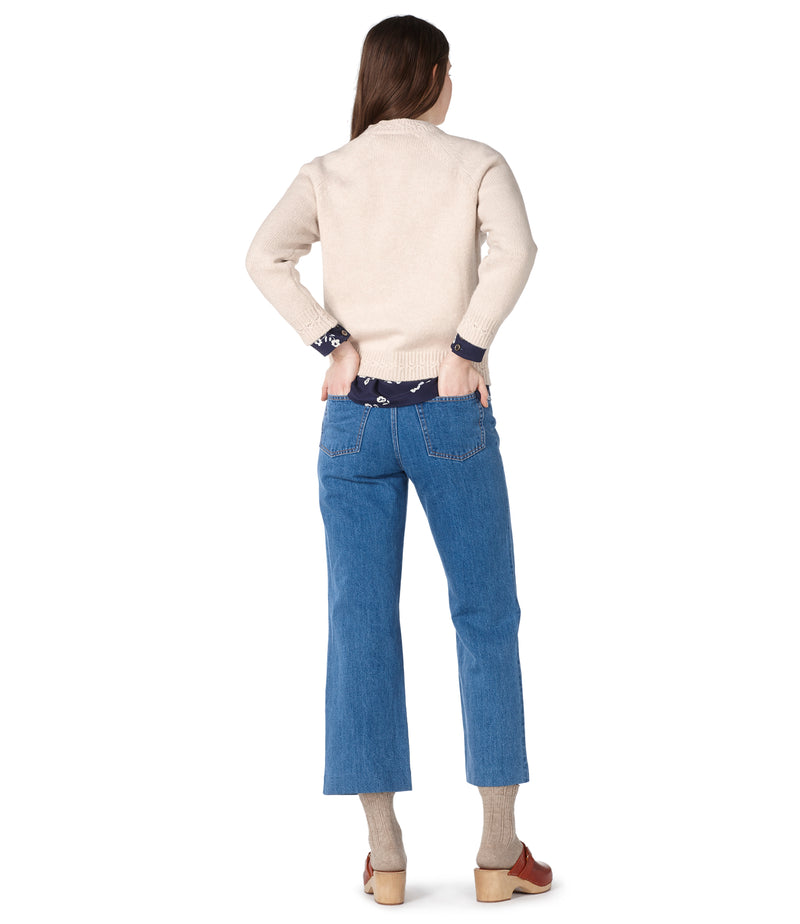 This is the Wicklow sweater product item. Style AAE-3 is shown.