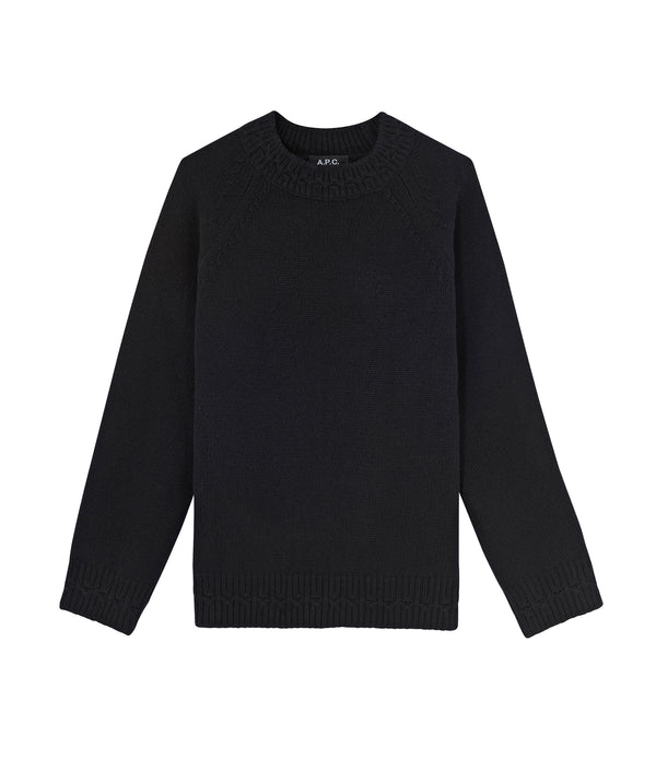 Wicklow sweater - LZZ - Black
