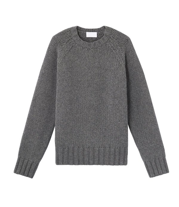 Ethan oversize sweater - PLA - Heather gray