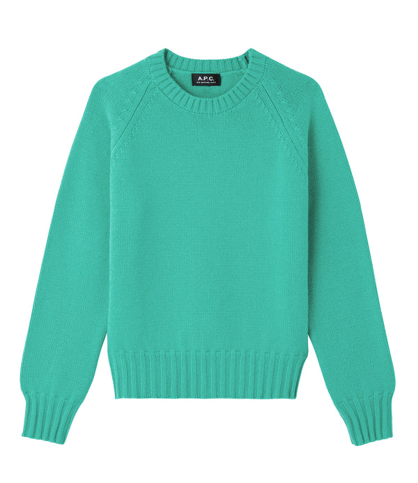 Alyssa sweater - KAA - Turquoise green