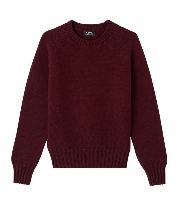 Alyssa sweater - GAC - Burgundy