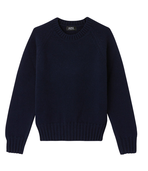Alyssa sweater - IAK - Dark navy blue
