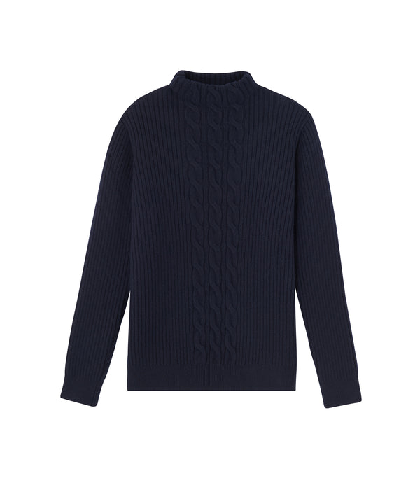 Nico sweater - IAK - Dark navy blue