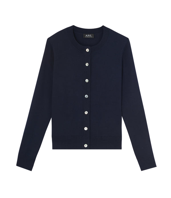 Marine cardigan - IAK - Dark navy blue