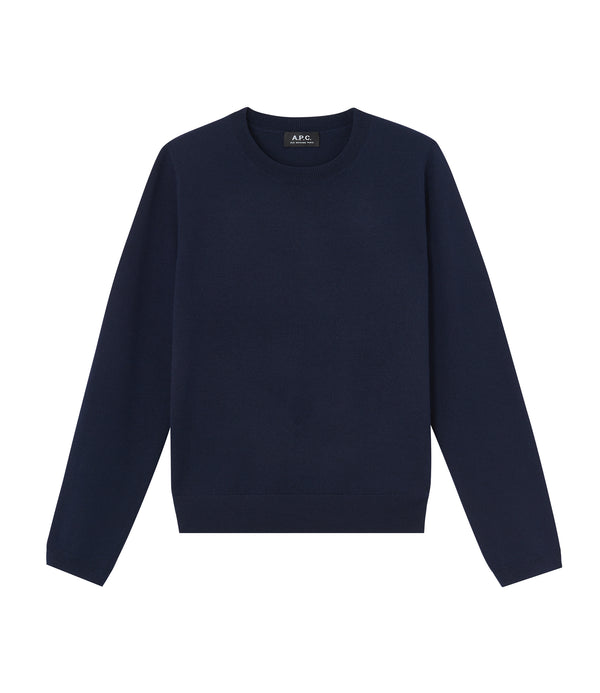 Savannah sweater - IAK - Dark navy blue