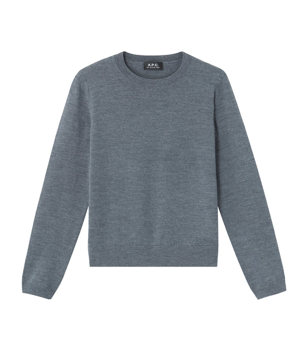 Savannah sweater - PLC - Heather charcoal gray
