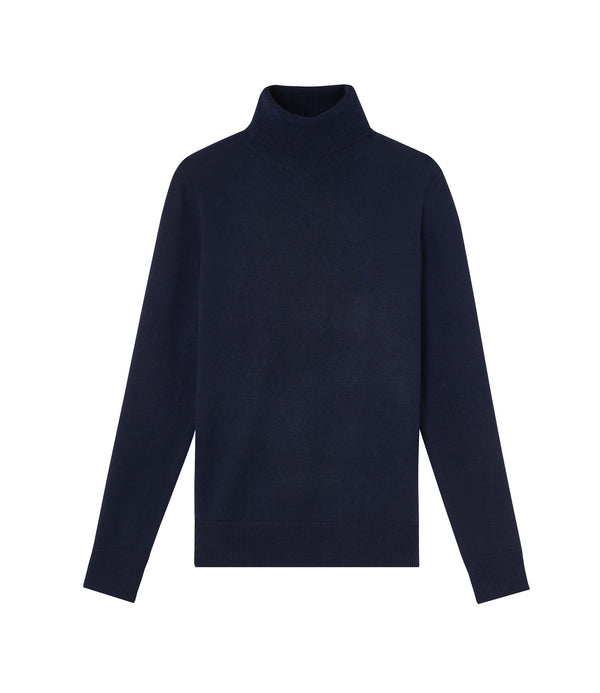 Sandra sweater - IAK - Dark navy blue