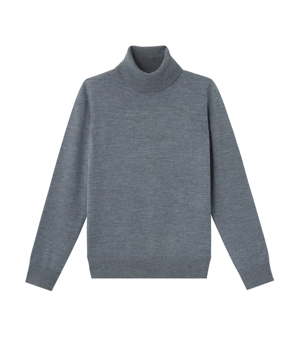 Sandra sweater - PLC - Heather charcoal gray