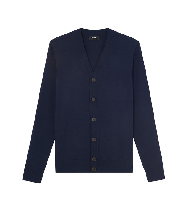Samuel cardigan - IAK - Dark navy blue