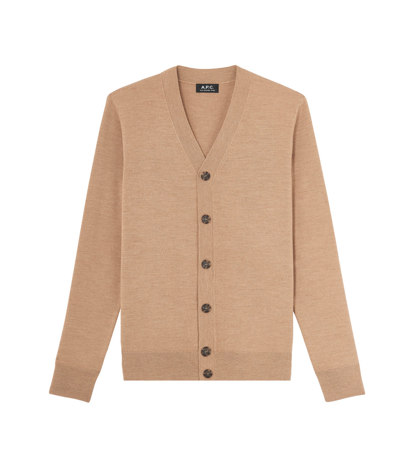 This is the Samuel cardigan product item. Style PBC-1 is shown.