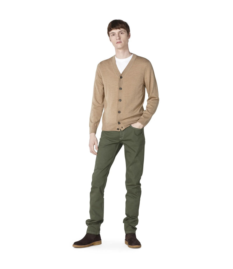 This is the Samuel cardigan product item. Style PBC-2 is shown.