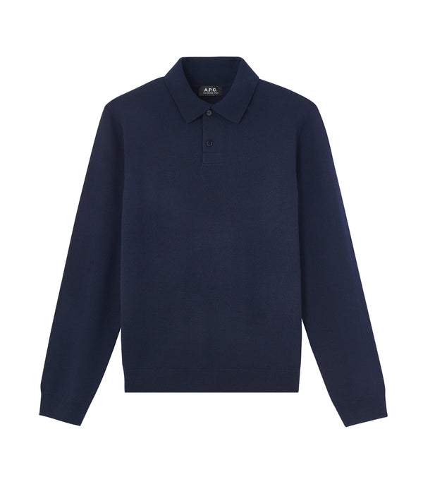 Jerry polo shirt - IAK - Dark navy blue