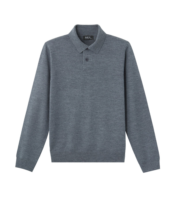 Jerry polo shirt - PLC - Heather charcoal gray