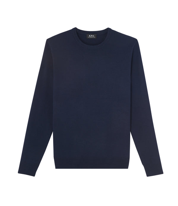 King sweater - IAK - Dark navy blue