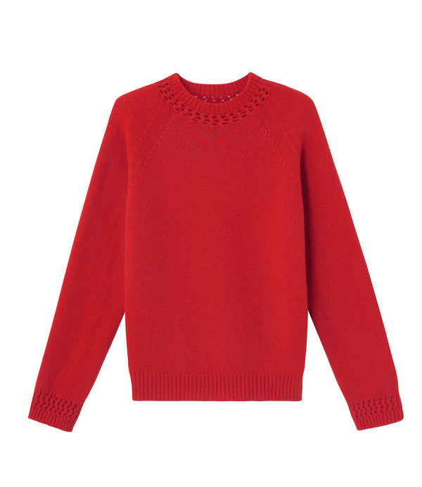 Janet sweater - GAA - Red